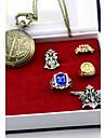 Ceas/Ceas de Mână Insignă Mai multe accesorii Inspirat de Black Butler Sebastian Michaelis Anime Accesorii Cosplay Ceas/Ceas de Mână Inel