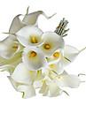 Flori de Nuntă Formă liberă Crini Buchete Nuntă Petrecere / Seară Satin Elasticizat