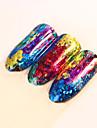 1pcs Nail Art-klistermärken Spets Klistermärke makeup Kosmetisk Nail Art-design