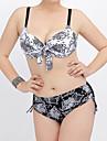 Pentru femei Bikini - Imprimeu, Multicolor