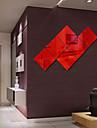 Oglinzi Forme Abstract Perete Postituri Autocolante de Perete cu Cristale Acțibilduri de Oglindă Autocolante de Perete Decorative,Vinil
