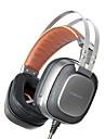 XIBERIA K10 Peste ureche Cordeluțe Cablu Căști Dinamic Aluminum Alloy Jocuri Cască -Izolarea zgomotului Cu Microfon Cu controlul