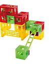 Jucării pentru mașini Lego Seturi de marmura Traseu de Marmură Jucarii 3D Magnetic Plastice 48 Bucăți