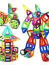 KEAIHAO Magnetiskt block Byggklossar Utbildningsleksak Fyrkantig Cirkelrunda Triangel Magnet Originella Kreativ Klassisk & Tidlös Chic