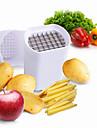 3 piese Cartof Cutter pe & Slicer For pentru Fructe pentru legume Plastic Oțel Inoxidabil Calitate superioară Bucătărie Gadget creativ