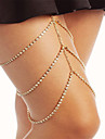 Dame Bijuterii de corp Lănțișor Picior La modă costum de bijuterii Ștras Geometric Shape Bijuterii Pentru Petrecere Ocazie specială