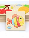 Puzzle Puzzle Lemn Jucării Educaționale Jucarii Pești Animale Reparații de Copil Pentru copii 1 Bucăți