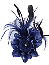 Fabric Satin Fascinators Flowers Hair Tool 1 Wedding Special Occasion Outdoor Headpiece