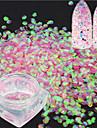 1 bottle Manucure De oration strass Perles Maquillage cosmetique Nail Art Design
