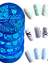 10pcs/set Redaktionell Verktyg och tillbehör / Målartillbehör / Verktyg och tillbehör Stilig / Professionel / Accessoarer Nail Art Design