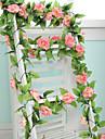 9flowers 2m longth kunstmatige valse zijde rose bloem klimop wijnstok opknoping garland bruiloft decor partij huis tuindecoratie