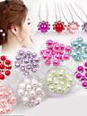 Perle Veșminte de cap / Pini de păr cu Floral 1 buc Nuntă / Ocazie specială Diadema