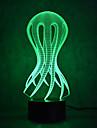 octopus touch dimming 3d condus lumina de noapte 7colorful atmosfera de decorare lumina noutate lumina de iluminat