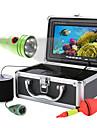 Mountainone 50m 1000tvl set de camere video pentru pescuit subacvatic 6 piese led cu led color7 cu monitor color