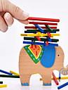 Byggklossar Byggleksaker Byggtorn Utbildningsleksak 1 pcs Balans Elefant Barn Present