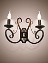 AC 100-240 45 E14 E12 Rustik/Stuga Retro Målning Särdrag Stämningsljus vägg~~POS=TRUNC