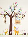 Animale Botanic Desene Animate Perete Postituri Autocolante perete plane Autocolante de Perete Decorative,Vinil MaterialPagina de