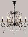 Rustik/Stuga Vintage Retro Land Modern Traditionell/Klassisk Kristall LED Ljuskronor Glödande Till Vardagsrum Sovrum Kök Matsalsrum