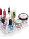 Textil Plast Oval Plast Resan Hem Organisation, 1st Flickor och unga kvinnor Skrivbordsorganiserare Makeupförvaring Smyckesboxar