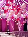 6pcs / set chineză lanternă de hârtie felicitări de nunta decor de nunta cadou craft diy au 6 dimensiune 15cm 20cm 25cm 30cm 35cm 40cm