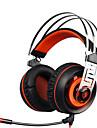 sades a7 surround 7.1 Căști pentru jocuri sunet stereo cu LED-uri USB microfon și căști de vibrații pentru PC