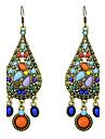 Pentru femei Cercei Rotunzi  Cercei Design Unic La modă Bohemia Stil Adorabil Personalizat Euramerican costum de bijuterii Circle Shape