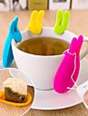 5 ml Silicon Strecurătoare Ceai . Ceai Verde creator Reutilizabil