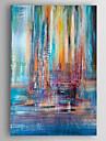 Pictat manual Abstract Vertical,Clasic Un Panou Canava Hang-pictate pictură în ulei For Pagina de decorare