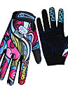 QEPAE Gants sport Gants de velo, Gants de Cyclisme Garder au chaud / Resistant aux ultraviolets / Antiusure Doigt complet Spandex / Fibres textiles synthetiques Camping / Randonnee / Patinage