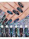 1 / kutija Akril Puder Za Prst noktiju 8 boja nail art Manikura Pedikura Klasik Dnevno