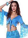 رقص شرقي كنزات للمرأة أداء قطن كم طويل بلايز