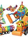 Bloc magnetic Placi magnetice Lego 168 pcs Robot Όχημα κατασκευών compatibil Legoing Magnetic Reparații Educație Băieți Fete Jucarii Cadou