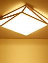 Montage du flux Lumiere d'ambiance - LED, 110-120V / 220-240V, Blanc Creme / Blanc, Source lumineuse de LED incluse / 5-10㎡ / LED Integre