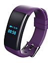 Smart Armband Pekskärm Hjärtfrekvensmonitor Vattenavvisande Brända Kalorier Stegräknare Träningslogg Distansmätning Lång standby