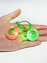 Fidget-leksaker LED-belysning Jojo Kulor Lysande leksaker Finger Yo yo Stresslindrande leksaker Leksaker Kul Cirkelrunda Boll Kiselgel