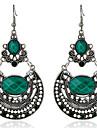 Pentru femei Fete Cercei Stud Cercei Picătură Ștras imitație de diamantDesign Basic Design Unic Stil Atârnat Ștrasuri Prietenie Englezesc