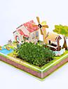 Παζλ 3D Kit de Construit Σπίτι Χαρτί Παιδικά Δώρο