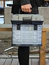 タックルボックス タックルボックス シートボックス 4 トレイ 高級ABS樹脂 27 cm*18 インチ*17 cm