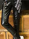 Bărbați Șic Stradă Talie Medie,Micro-elastic Skinny Pantaloni Chinos Pantaloni Mată
