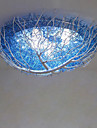 Tiffany Montaj Flush Pentru Sufragerie Dormitor Cameră de Fete AC 220 -240V Bec Inclus