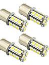 4 buc 1157 / 1156 Mașină Becuri 2W SMD 5050 200lm LED Lumini exterioare