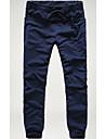 Bărbați Relaxat Activ Talie Medie,Micro-elastic Skinny Pantaloni Chinos Pantaloni Mată