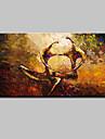 Pictat manual Abstract Orizontal,Modern Stil European Un Panou Canava Hang-pictate pictură în ulei For Pagina de decorare
