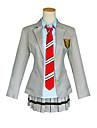 cosplay Suits Cosplay Toppar / Bottoms Skoluniformer Mer accessoarer Inspirerad av Din Lie i april Cosplay Animé Cosplay-tillbehör Kappa