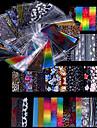 48 pcs Лента для ногтей маникюр Маникюр педикюр Мода Повседневные / Съемная лента для фольги