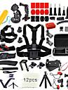 Accessoires Kit 67 en 1 / Exterieur / Multifonction Pour Camera d\'action Gopro 6 / Tous / Xiaomi Camera Ski / Sport de detente / Universel