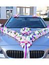 Πολυτέλεια Πολυεστέρας Flower & Bud Πολυεστέρας Ταφτάς Μεικτό Υλικό Κορδέλες γάμου - 10 Piece / Σετ Αξεσουάρ Γάμου Διακοσμήστε το γαμήλιο