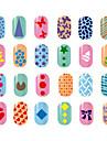 10 pcs Stempling plade Skabelon Moderigtigt Design Negle kunst Manicure Pedicure Stilfuld / Mode Daglig / Stempling Plate