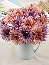 2 Gren Silke Polyester Annat Pioner Bordsblomma Konstgjorda blommor