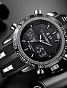 Heren Polshorloge Digitaal horloge Silicone Zwart Waterbestendig Kalender Creatief Analoog-Digitaal Amulet Luxe Klassiek Informeel Modieus - Zwart Rood Blauw Twee jaar Levensduur Batterij